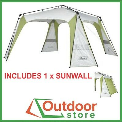 Coleman Event 14 Instant-Up Shelter plus 1 x Sunwall - FREE to Melb, Syd, & Adel