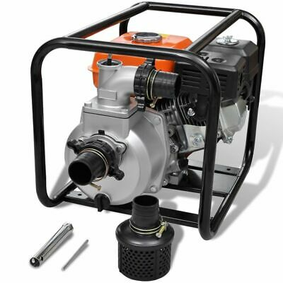New Petrol Engine Water Pump Plumbing Pump 80 mm Connection 6,5 HP Pool Farm