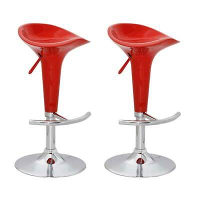 New Set of two bar stools red bar chairs dining stool bar furniture