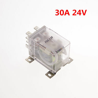24VDC 30A DPDT Power Relay Motor Control Silver Alloy x 1