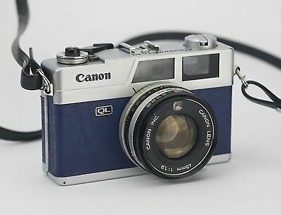 Canon Canonet QL19 Replacement Cover - Recycled Leather
