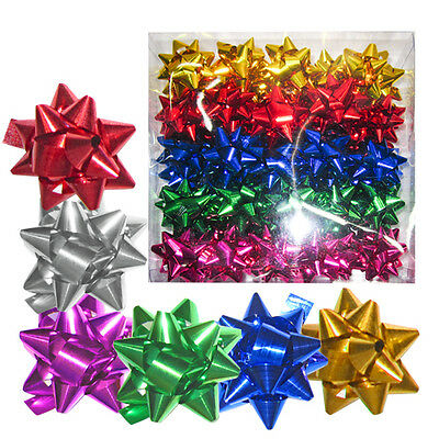 10 or 50pcs pull bows gift wrapping 5cm multi colour christmas birthday wedding