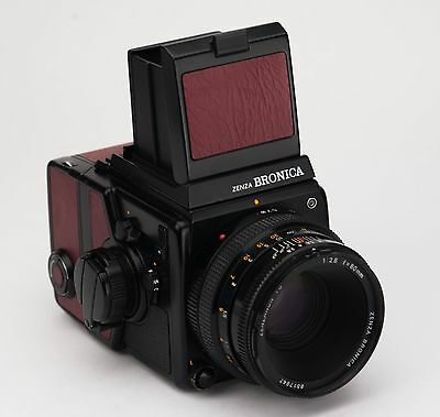 ZENZA BRONICA SQ-Ai Replacement Cover - Recycled Leather