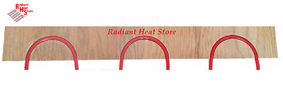 "(8-pack) Radiant Floor Heat Sleeper Return Loop Panels for 1/2"" Barrier PEX"