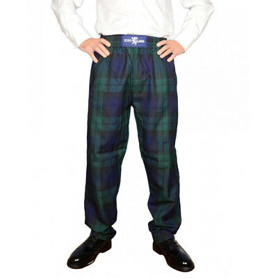 Heritage Of Scotland Men's Donnellis Tartan Golf Trousers / Pants
