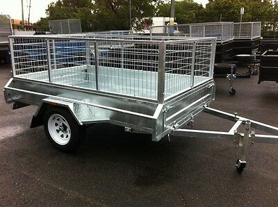 Heavy Duty Hot Dipped Gal Tilt Trailers All Sizes In Stock .