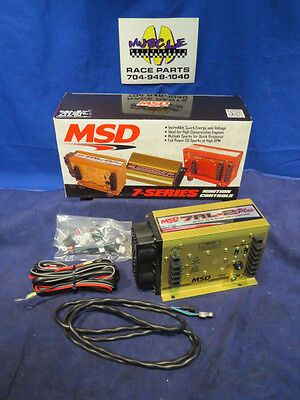 msd ignition 6520 digital 6 plus ignition box 2 step start new msd 7al 2 plus p n 7222 drag race ignition box w