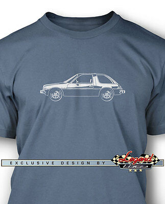AMC Pacer X 1978 T-Shirt for Men - Multiple Colors Sizes - American Classic Car