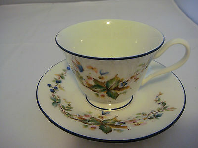 Lenox Oxford Bone China Brandy White Cup & Saucer Made in the USA
