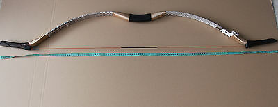 40lb Exquisite Craft Handmade Snakeskin Traditional Longbow Recurve Bow
