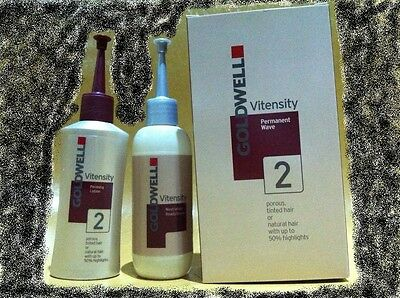 ~GOLDWELL Vitensity Permanent Wave 2 natural hair with up to 50% highlights~