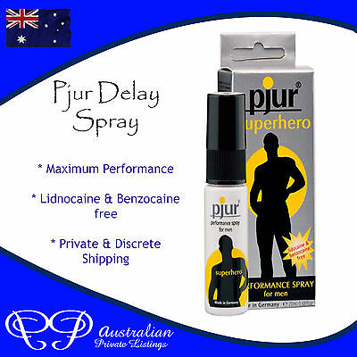 PJUR Delaying Control Spray for longer lasting Sex in Men, bed / enduring