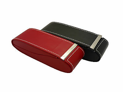 Mens / Womens Executive Style Hard Glasses Case With Folding Magnetic Hinge