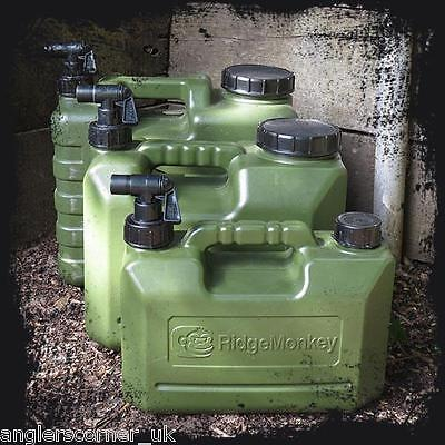 RidgeMonkey Heavy Duty Water Carriers 5ltr 10ltr 15ltr Ridge Monkey Carp Fishing