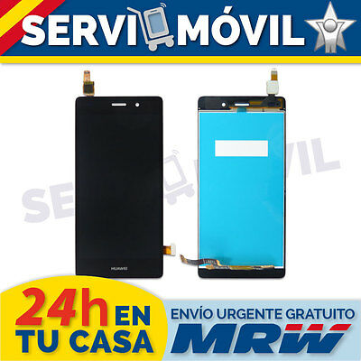 Pantalla Completa para HUAWEI ASCEND P8 LITE Lcd + Tactil Negra Touch Display
