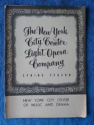 Carousel - New York City Center Theatre Playbill - July 19th, 1954 - Jo Sullivan