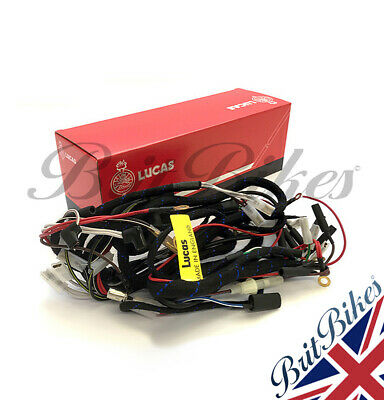Genuine Lucas Complete Wiring Harness BSA A7 A10 Swinging Arm LU839780, 19-0735