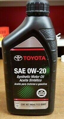 Oil change lube services installation parts for Toyota genuine motor oil equivalent