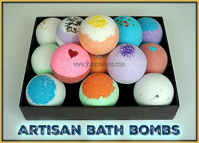 BATH BOMBS - BATH FIZZY Lot of 25 (2.5 oz.) ASSORTED LUSH & LUXURIOUS SCENTS