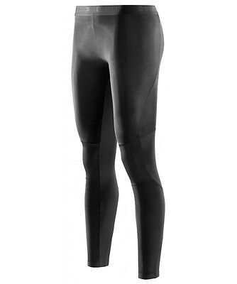 Skins RY400 Womens Compression Long Tights for Recovery (Black)