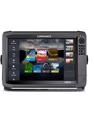 Lowrance HDS-12 Gen3 Touch Screen Fishfinder/ Chartplotter GPS Sounder RRP $4500
