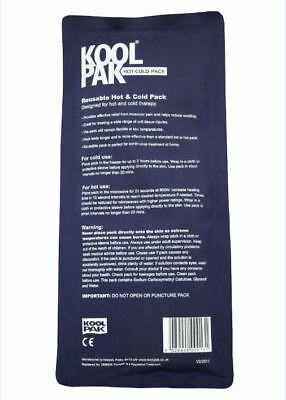 KoolPak Luxury Reusable Hot Cold Ice Gel Pack and accessories- First Aid Pain Re