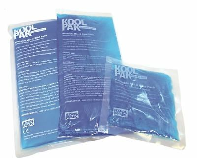 KoolPak Reusable Hot Cold Ice Gel Pack  and accessories- First Aid Pain Relief H
