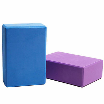 Yoga Block Balance Pilates Foam Foaming Brick Stretch Health Fitness Exercise