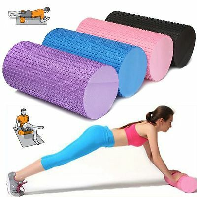 NEW 30cm Yoga Pilates Massage Fitness Gym Trigger Point Exercise Foam Roller