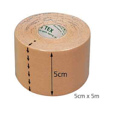 6 x 3NS Kinesiology Sports Atheletic Tape, 5cm x 5m