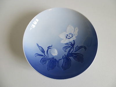 Fine Porcelain Blue & White Bowl by Bing & Grondahl - Made in Denmark 50/60's