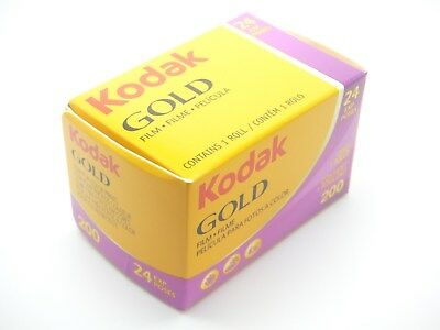 1 x KODAK GOLD 200 35mm 24exp CHEAP COLOUR CAMERA FILM DISCOUNTS ON MULTI BUYS