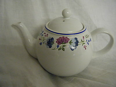 C4 Pottery BHS Priory Teapot 24x17x8cm 2C5A