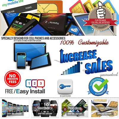 eBay Store & Listing Template Consumer Electronics theme [Responsive Design]