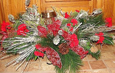 Valentines Day Headstone Solar Lt Cemetery Flowers Tombstone Saddles Red Bird