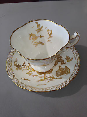 Hammersley teacup and saucer made in England