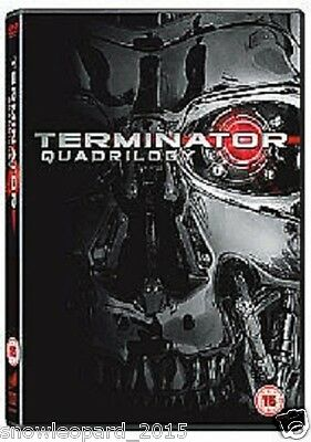 Terminator Quadrilogy Complete DVD Collection Part 1 2 3 4 Movie New Film Sealed