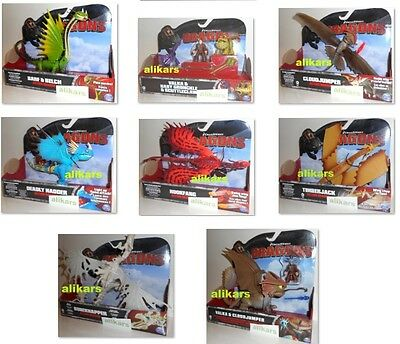 DRAGONS DreamWorks How to Train Your Dragon, Action Figure, Spin Master New Toy