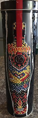 Kahlua 2003 Limited Edition 2 Metal Light Container That Glows Red