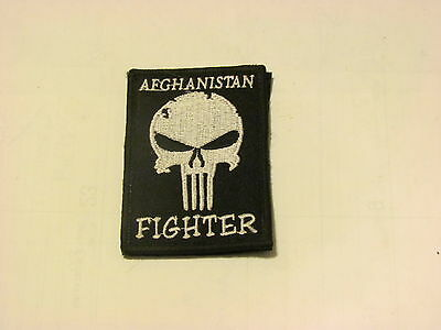 "Afghanistan Fighter ""Punisher"" Patch"