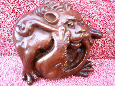 Lion Medieval Lincoln Cathedral Hand Made Carving Wall Plaque