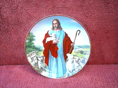 """Franklin  Mint  """"the Lord Is My Shepherd""""  Limited Edition Collector's  Plate"""