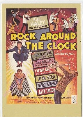 CPM CINEMA AFFICHE ROCK AROUND THE CLOCK Collection TELERAMA 6