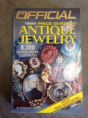Official 1984 Price Guide Antique Jewelry