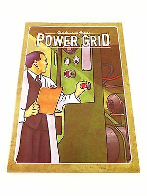 Power Grid Replacement / Expansion Original Game Rules Instruction Booklet