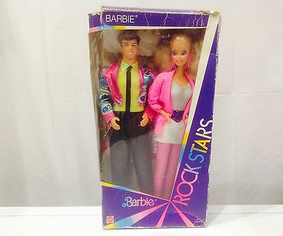 Vintage Barbie & Derek ROCKERS** Rock Stars** 1980's Doll (boxed) 1140/2428