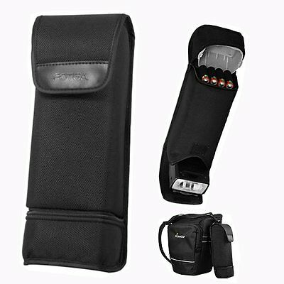 Nylon Portable Flash Battery Bag Case Pouch Cover For Canon 430EX II Nikon SB600