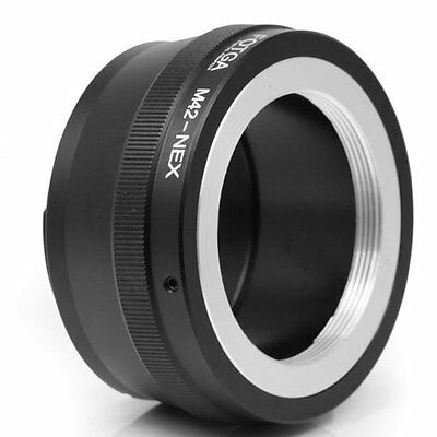 FOTGA M42 Mount lens to Sony E Mount Adapter for A7III NEX-3N 5C 6 7 NEX-VG10E