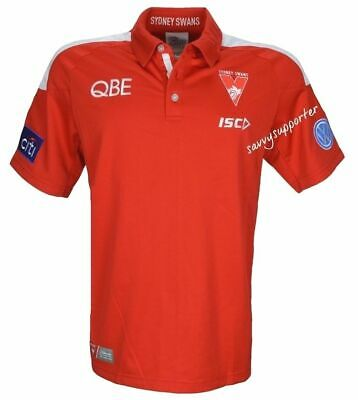 Sydney Swans 2016 Red Media Polo Shirt 'Select Size' S-5XL BNWT