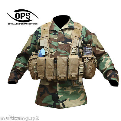 O.P.S/UR-TACTICAL Enhanced Combat Chest Rig in COYOTE BROWN